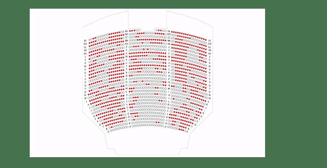 Here's how empty the Met will look tonight
