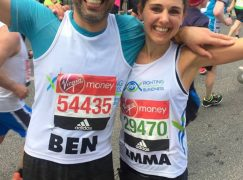 Musical finishers in the London Marathon