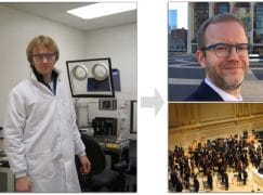 Why a scientist plays timps at the Metropolitan Opera