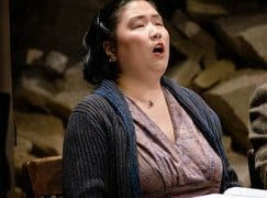 An American first: Blind soprano is cast in major role