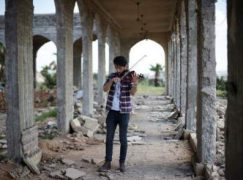 Pic of the week: The first musician in Mosul
