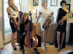 Keep your hair on, says string quartet
