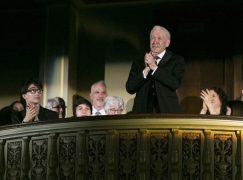 Detroit hails a departing founder