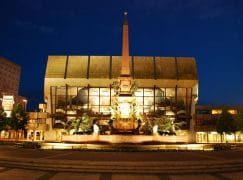 Leipzig's famous Gewandhaus becomes a Covid test centre