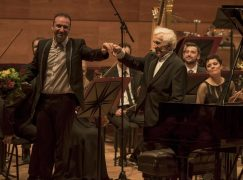 First pics: Ashkenazy opens new concert hall in Macedonia