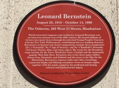 Bernstein goes on the wall