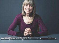 Longest serving female flautist?