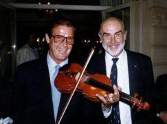 Roger Moore played viola