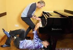 Watch: There's nowhere for Thibaudet to sit