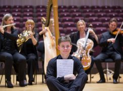 Scotland's best young composer is … English
