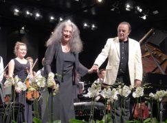 Dutoit and Argerich stage surprise comeback concert