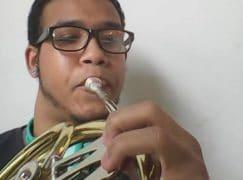 Sistema horn player is forced to flee Venezuela
