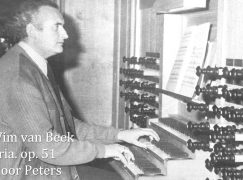 Doyen of Dutch organists has died, at 87