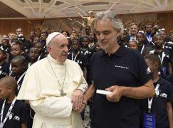 Pope to locked-down musicians: Don't despair, just listen