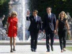 Macron stars in Salzburg