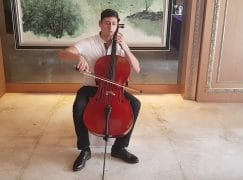 Fastest cellist in the west?