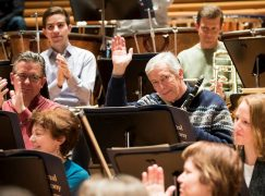 Washington mourns a principal clarinet
