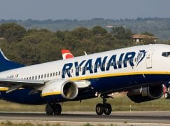 Ryanair are cancelling 50 flights a day
