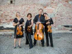 String quartet walks away unharmed from head-on collision
