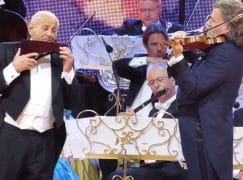 Andre Rieu is cleared of child labour charge