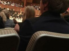 Theresa May attends two symphony concerts in a week