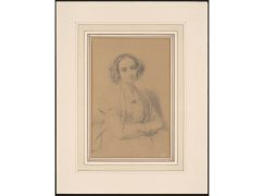 Leipzig finds two Fanny Mendelssohn portraits