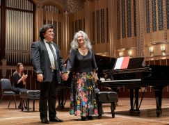 On her Cleveland debut, Martha Argerich plays a US premiere