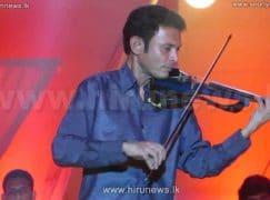 Sri Lanka loses its leading violinist