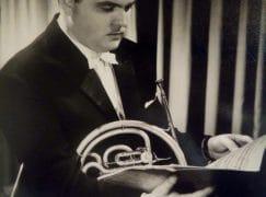 Death of a major horn player, 79