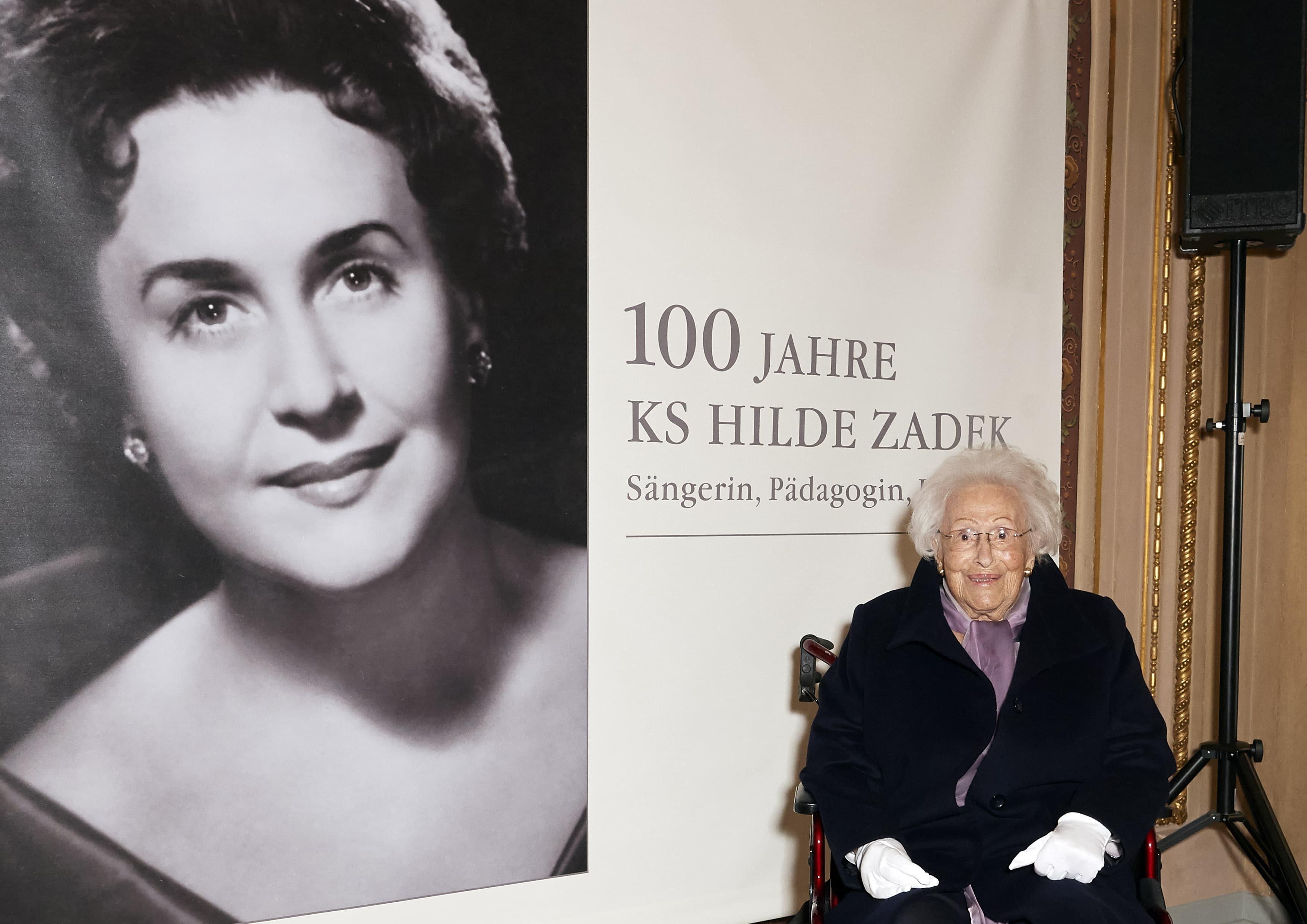 Vienna Opera extols a 100 year-old soprano