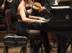 Now Yuja Wang comes out in her undies