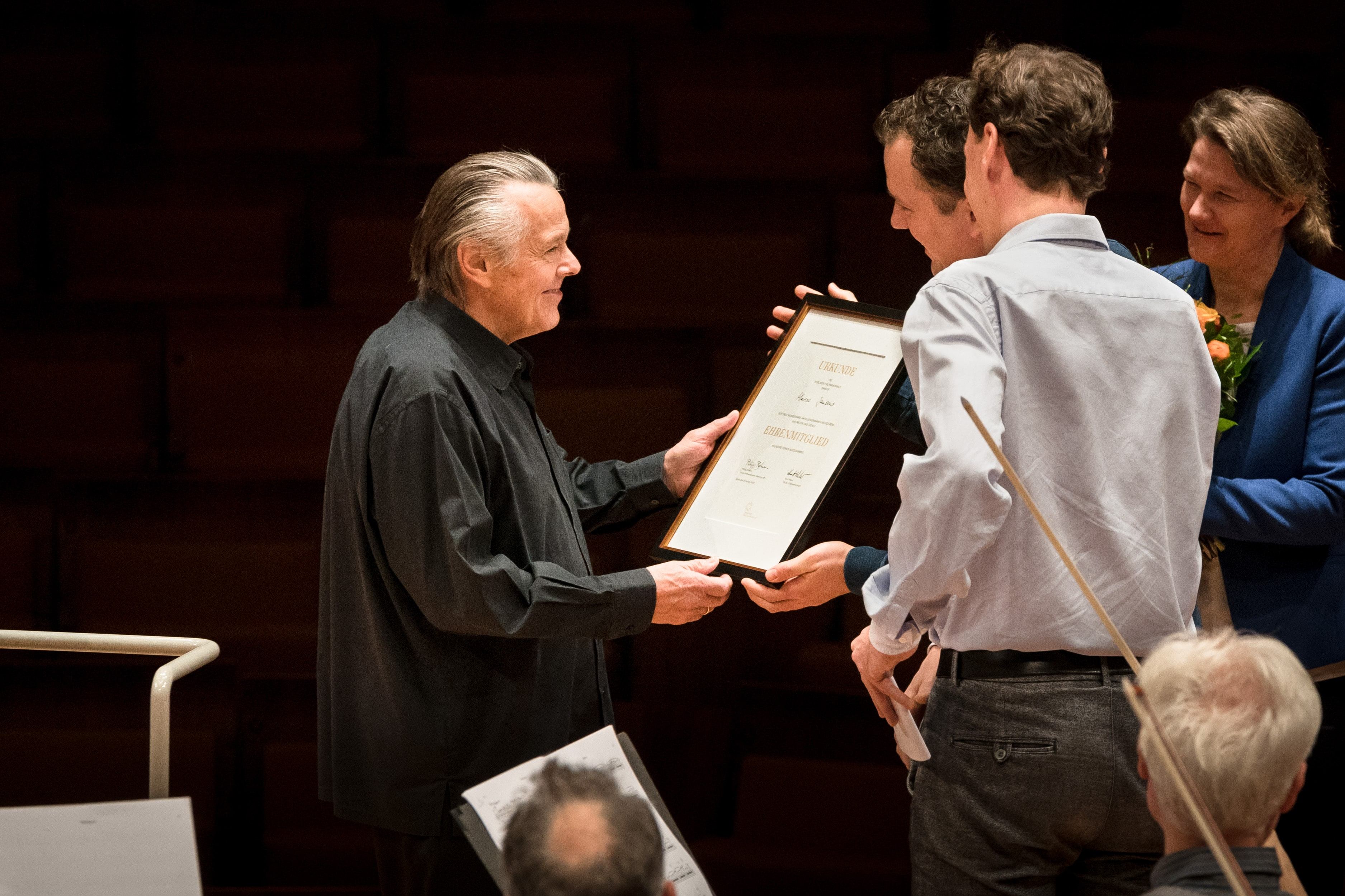 Mariss Jansons is made a member of the Berlin Philharmonic