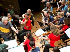 Men extend their advantage in German orchestras