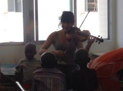 London orchestra players rally for African cancer kids