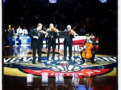 Watch: Solo cello is best to start the ball game