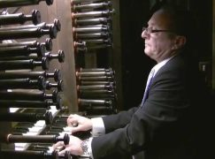 Death of an eminent French organist, 61
