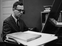 Death of a US composer, 85