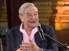 Adam Fischer gives humanity prize to George Soros