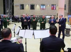 Munich recoils as Valery Gergiev takes part in Putin's weapons show