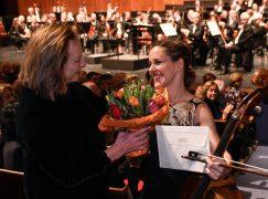 Cellist collects 50k Karajan prize