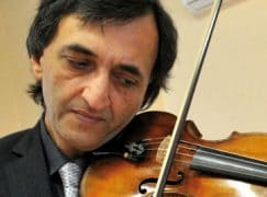 Death of a noted concertmaster, 60