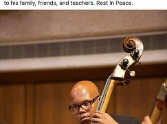 A young orchestral player is killed in Texas bombing