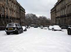 Weather whites out Edinburgh concert