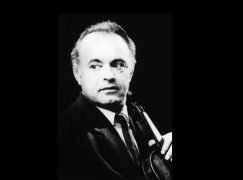 Death of an old-school Russian violinist, 80