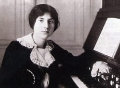 A woman composer who died 100 years ago today