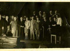 When Bernstein conducted Holocaust survivors