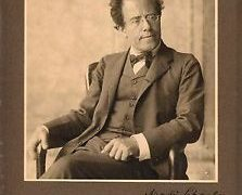 The portrait Mahler dedicated to Schoenberg….