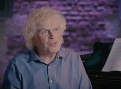 Simon Rattle is subdued on post-Covid outlook