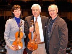 Boston Symphony receives a Guadagnini and Gagliano