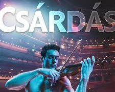 The shirtless violinist hits Symphony Hall